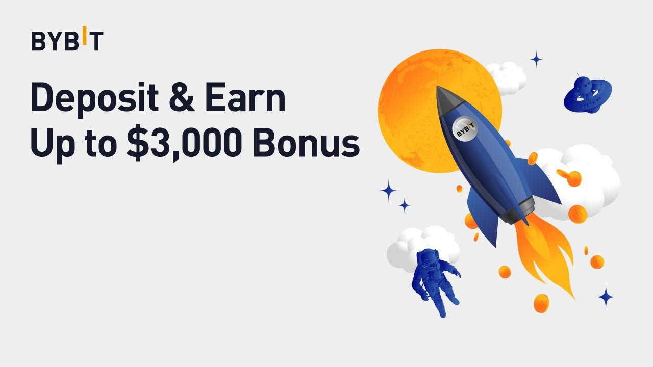 Bybit Is Now Offering 3% Bonuses on Deposits