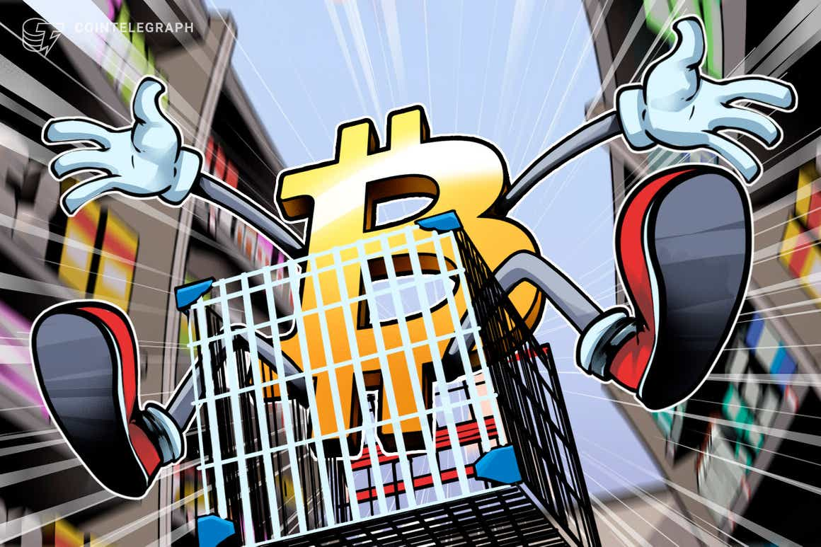 PayPal registra seu maior volume de negociação de Bitcoin desde a queda de preços do BTC em maio