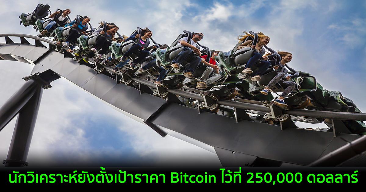 นักวิเคราะห์ยังตั้งเป้าราคา Bitcoin ไว้ที่ 250,000 ดอลลาร์