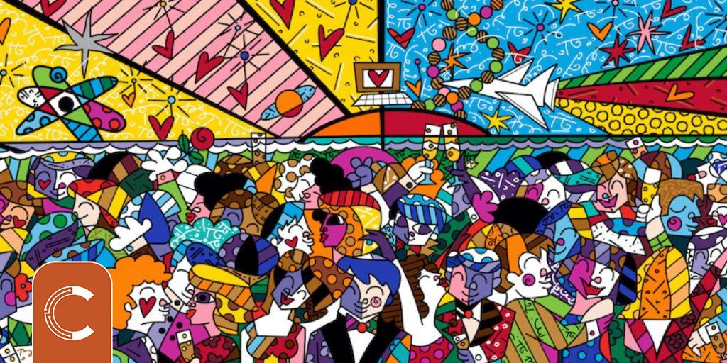 Brezilyalı Usta Sanatçı Romero Britto İlk NFT'sini Duyurdu