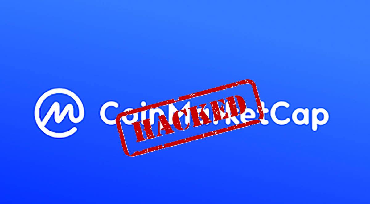 Coinmarketcap ถูกแฮ็ค ข้อมูลผู้ใช้งานกว่า 3.1 ล้านรายรั่วไหล
