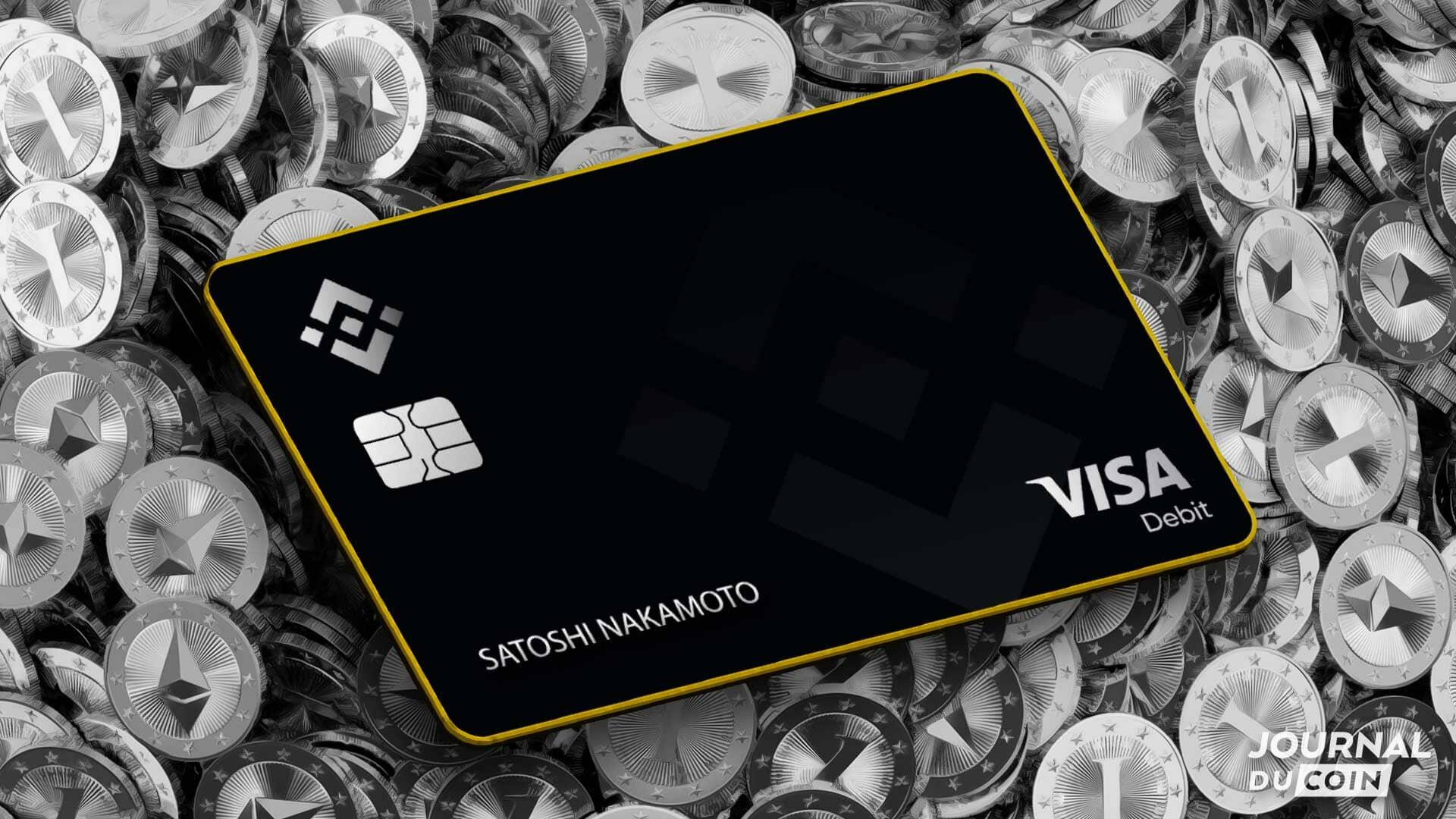 S'inscrire sur Binance et obtenir la carte VISA gratuite