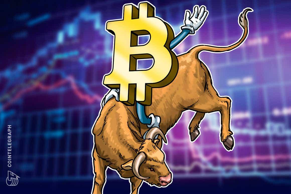 """Bitcoin bleibt trotz Abschwung auf 50.000 US-Dollar """"weiterhin positiv"""""""