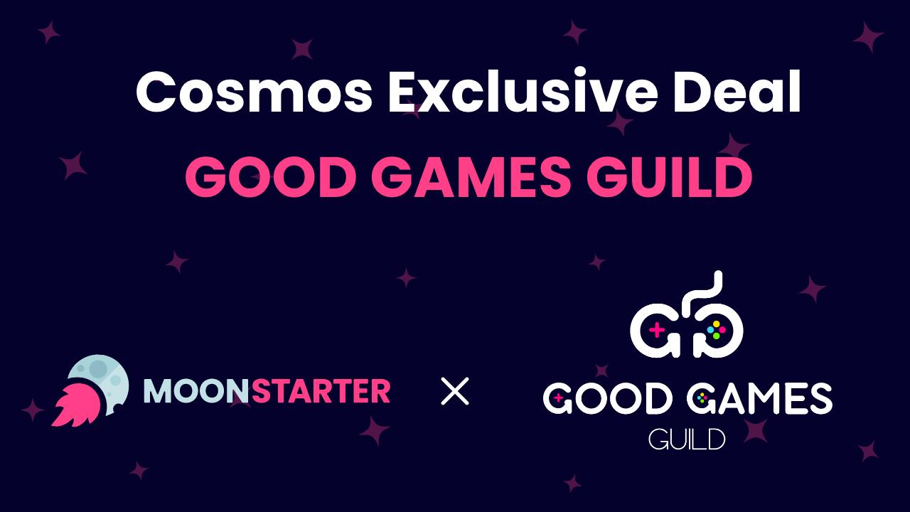 Thông báo dành cho Cosmos Staker về Good Games Guild