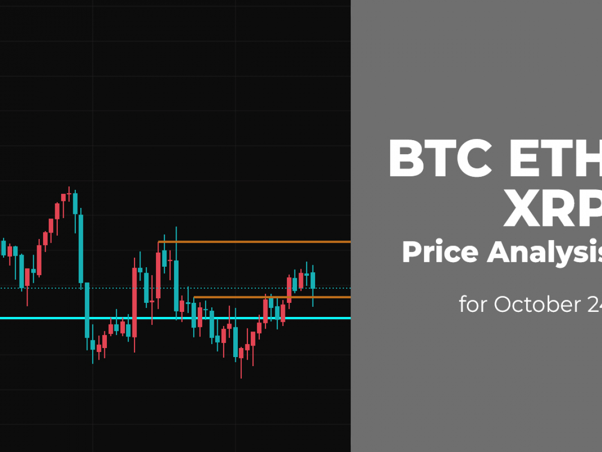 BTC, ETH, and XRP Price Analysis for October 24