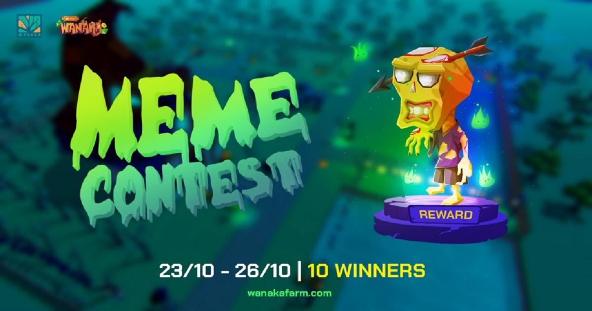 Wanaka Farm จัดประกวด Meme Contest ชิงรางวัล NFT 10 รางวัล