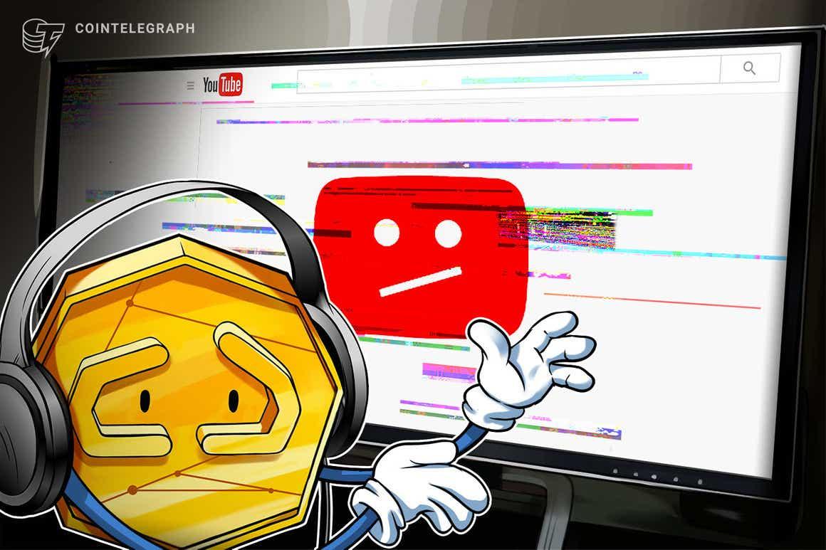 YouTube频道遭黑客入侵并更名,用于加密骗局直播