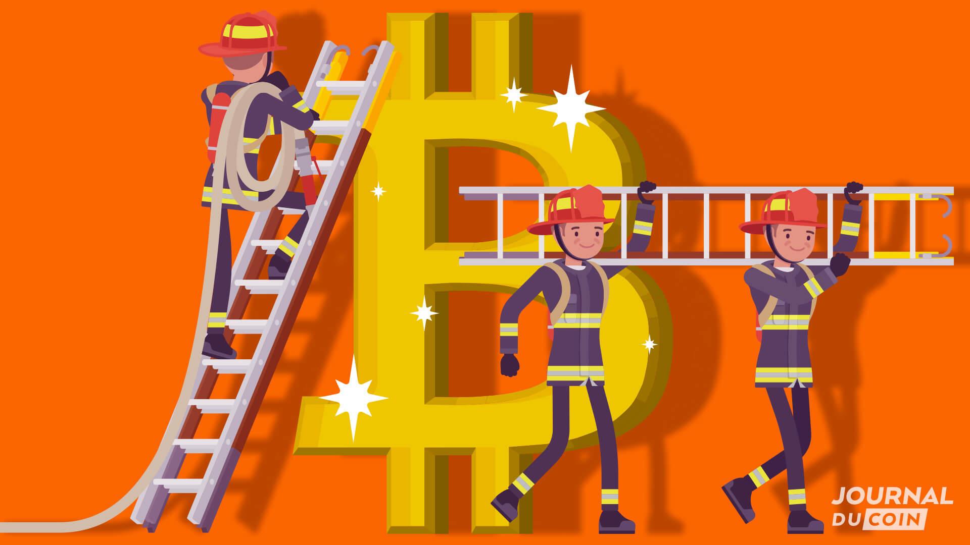 Bitcoin sort la grande échelle ! Les pompiers de Houston font le pari crypto pour leurs retraites