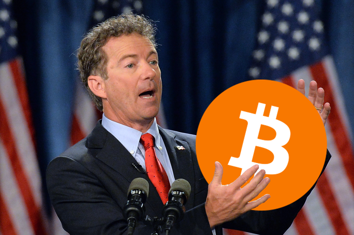 Bitcoin Could Become World Reserve Currency, Says Senator Rand Paul