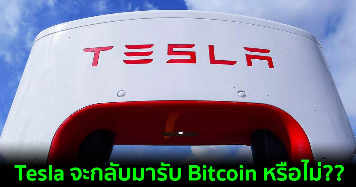 Tesla เผยถึงความเชื่อมั่นในศักยภาพระยะยาวของสินทรัพย์ดิจิทัล
