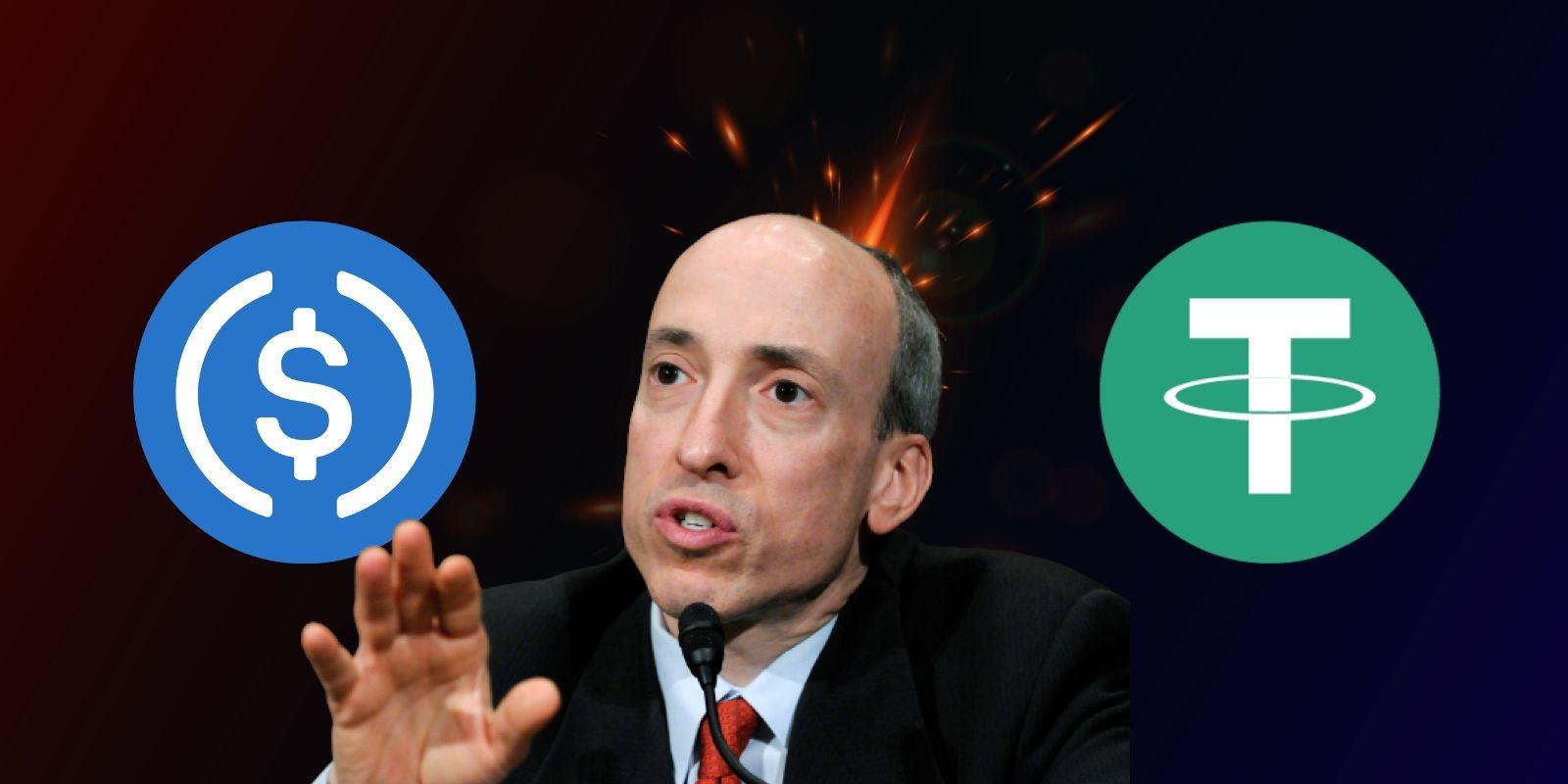 彭博報導:美國證券交易委員會(SEC)或將獲得「控制穩定幣」的重大權力