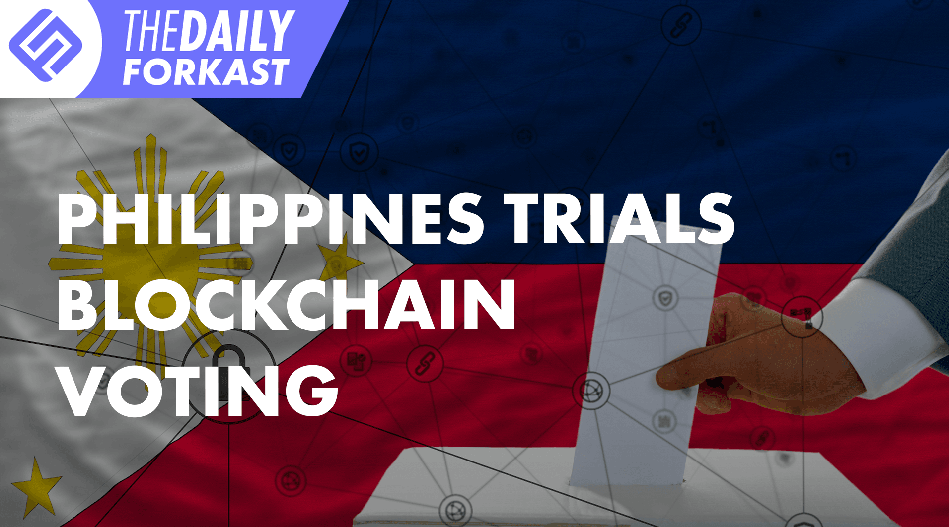 Philippines trials blockchain voting; Byron Bay to host crypto mining