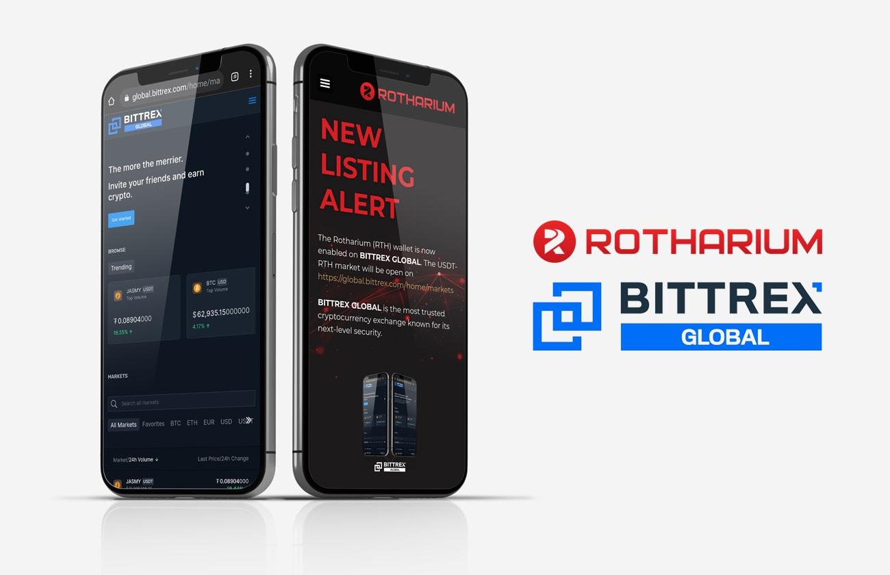"""Österreichische Kryptowährung Rotharium auf der Plattform """"Bittrex Global"""" erhältlich"""