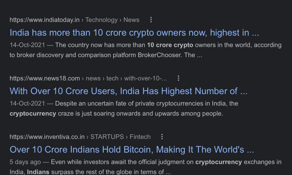 El CEO de WazirX echa por tierra la afirmación de que 100 millones de indios poseen cripto