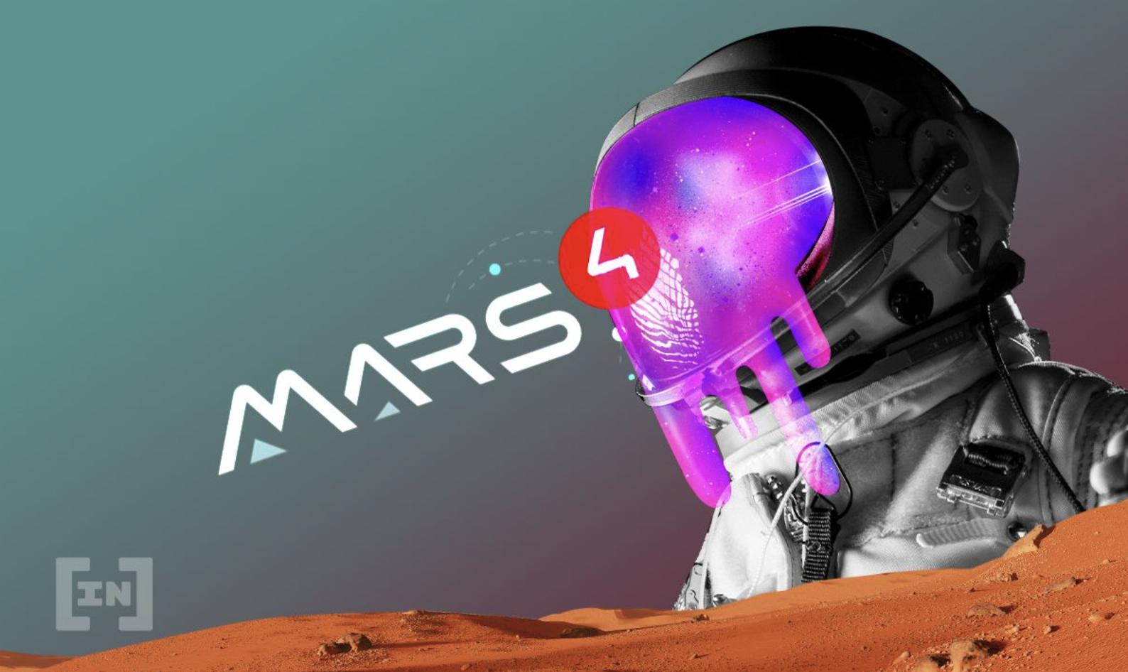 Mars4, projet de métavers, est coté sur Bittrex