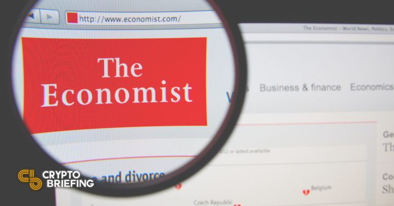 The Economist Cover Art NFT Sells for Over $420,000
