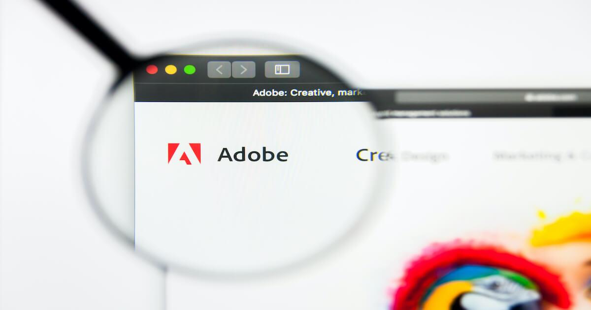 ソフトウェア大手「Adobe」、4つのNFTマーケットプレイスと提携