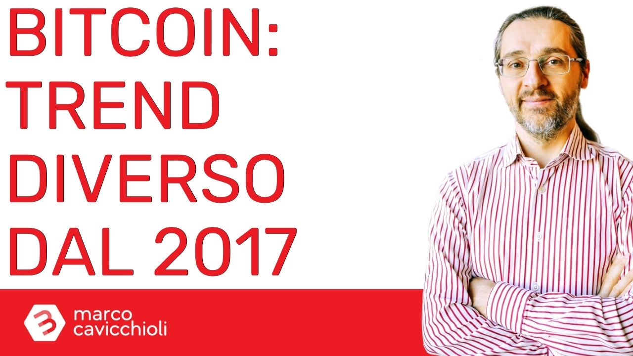 Bitcoin non sta seguendo alla lettera il trend del 2017