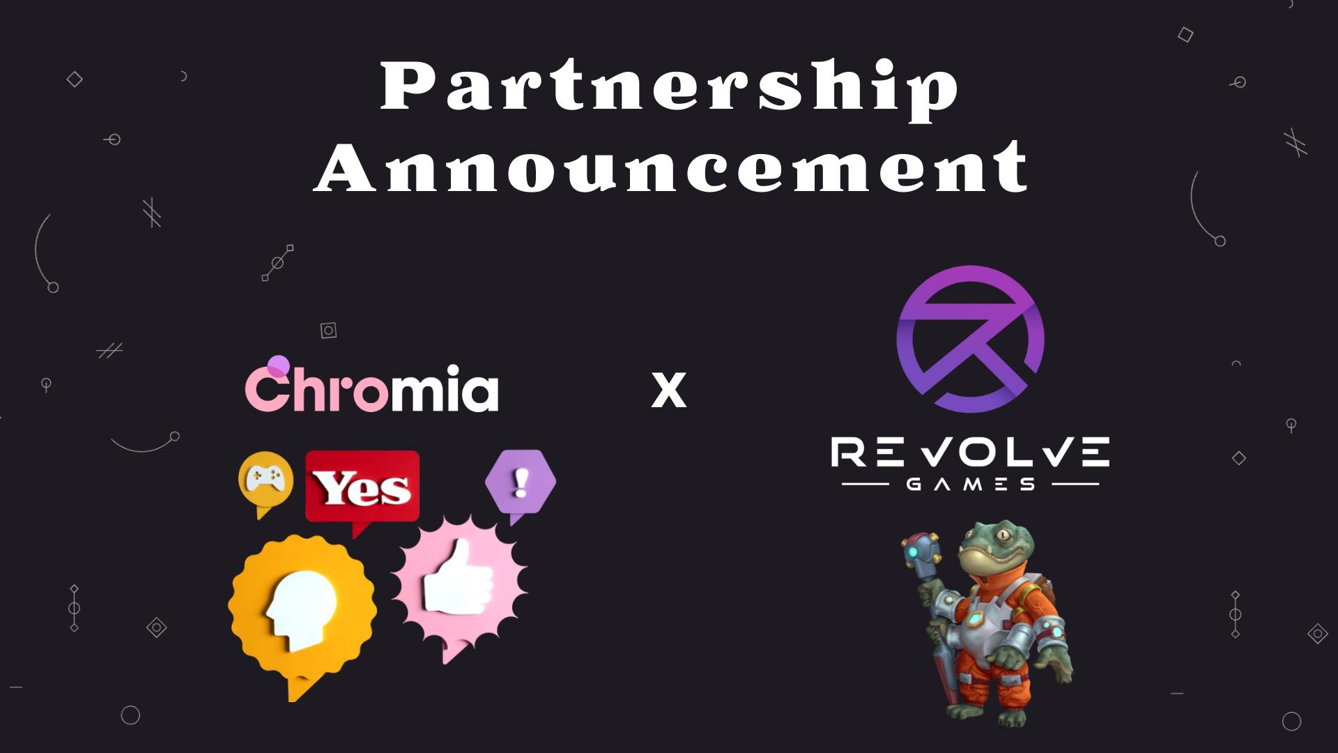Revolve Games là đối tác chiến lược mới nhất của Chromia