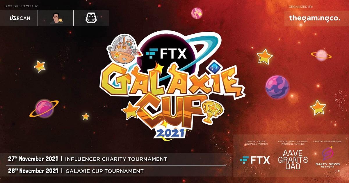 เปิดตัว FTX GALAXIE CUP การแข่งขัน AXIE INFINITY ระดับโปร เพลเยอร์
