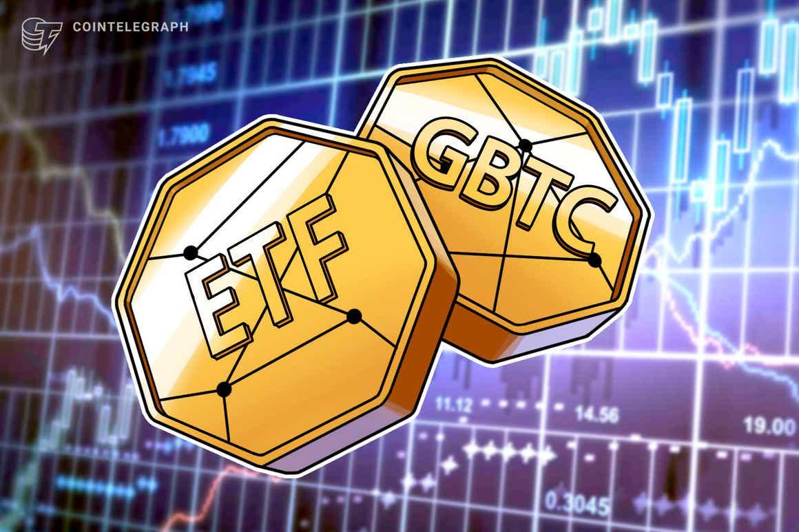 La scorsa settimana, GBTC ha registrato rendimenti migliori rispetto ai nuovi Bitcoin ETF statunitensi
