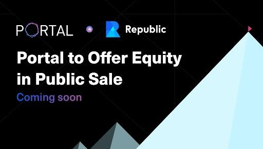 After Raising $8.5M from Private Investors, Portal Announces Republic Offering