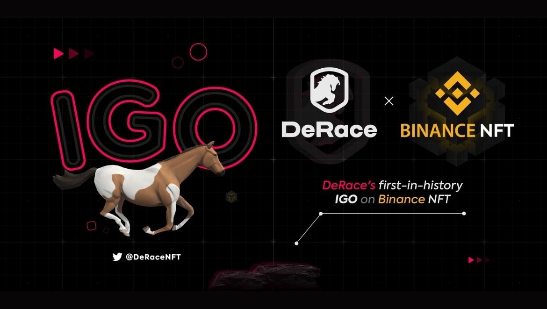 Binance NFT анонсировала размещение IGO для проекта DeRace