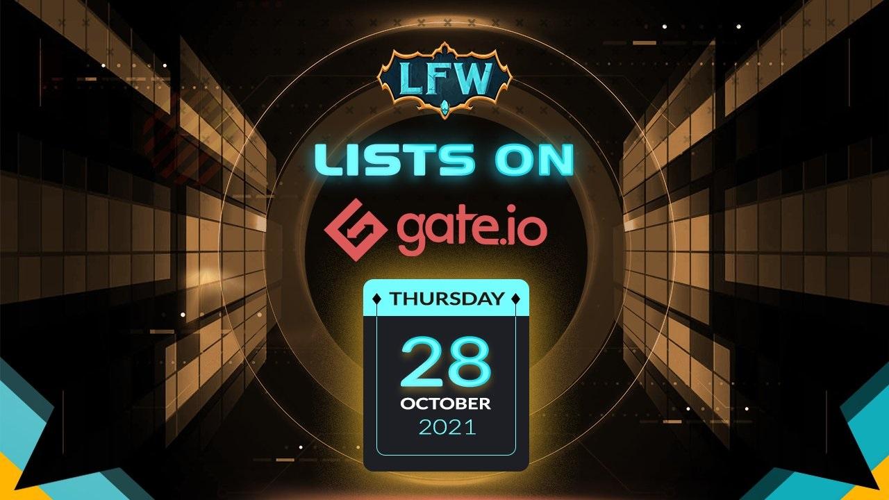 Legend of Fantasy War (LFW) ra mắt sự kiện mở bán trên Gate.io Startup