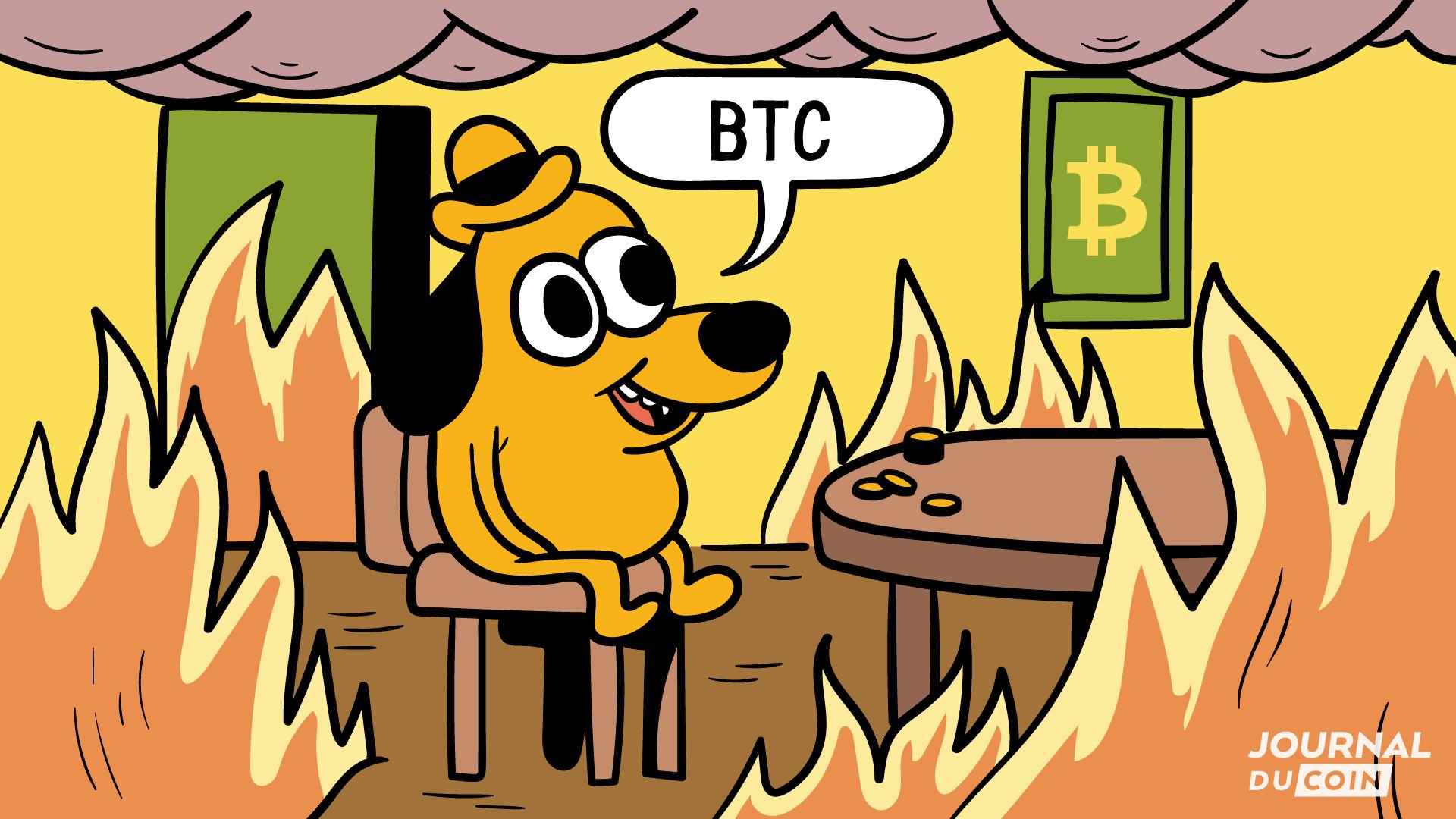 Flash crash de Bitcoin : 1 milliard de $ parti en fumée, la panique s'empare du marché