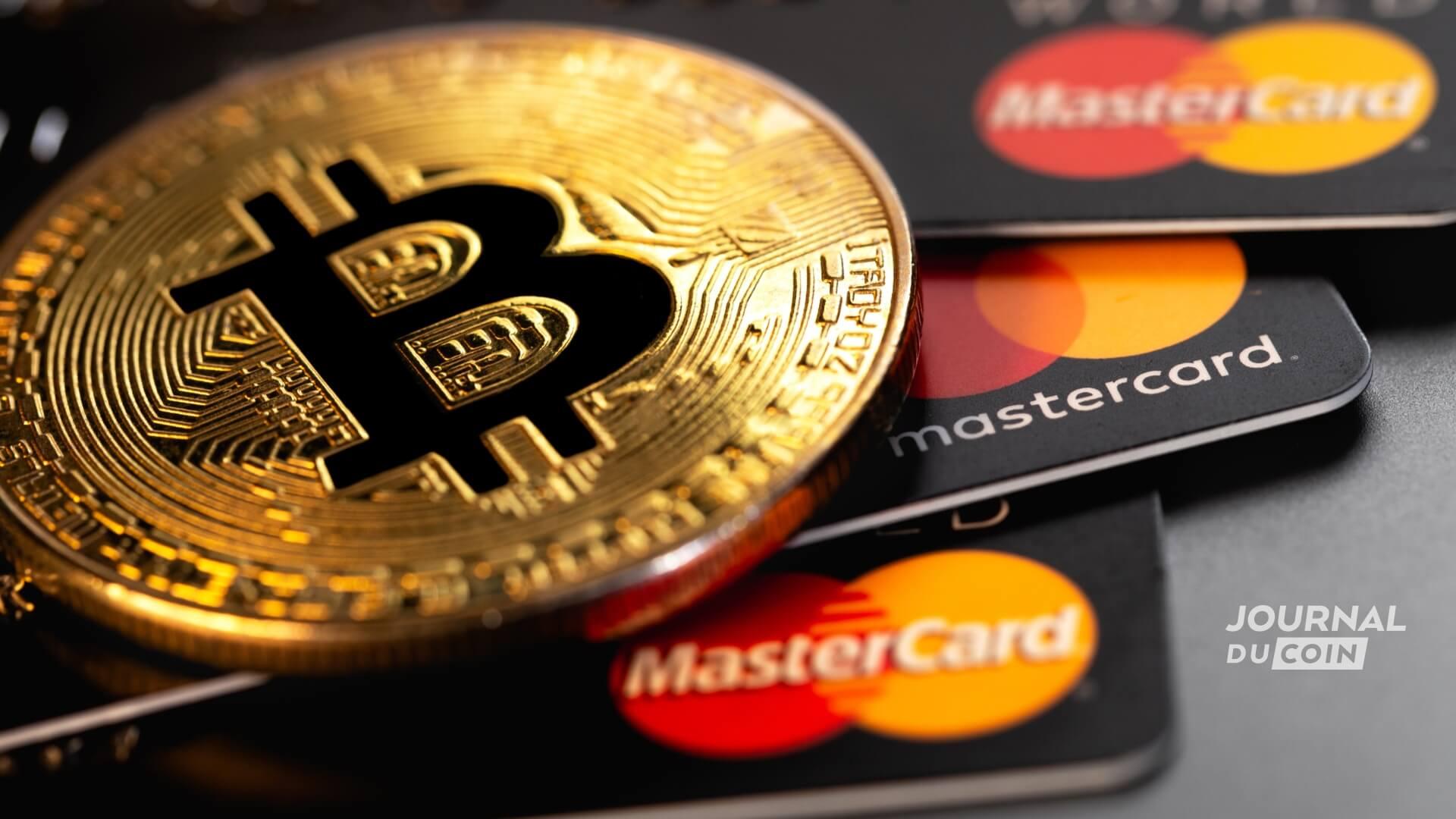 Mastercard et Bitcoin main dans la main, c'est pour demain