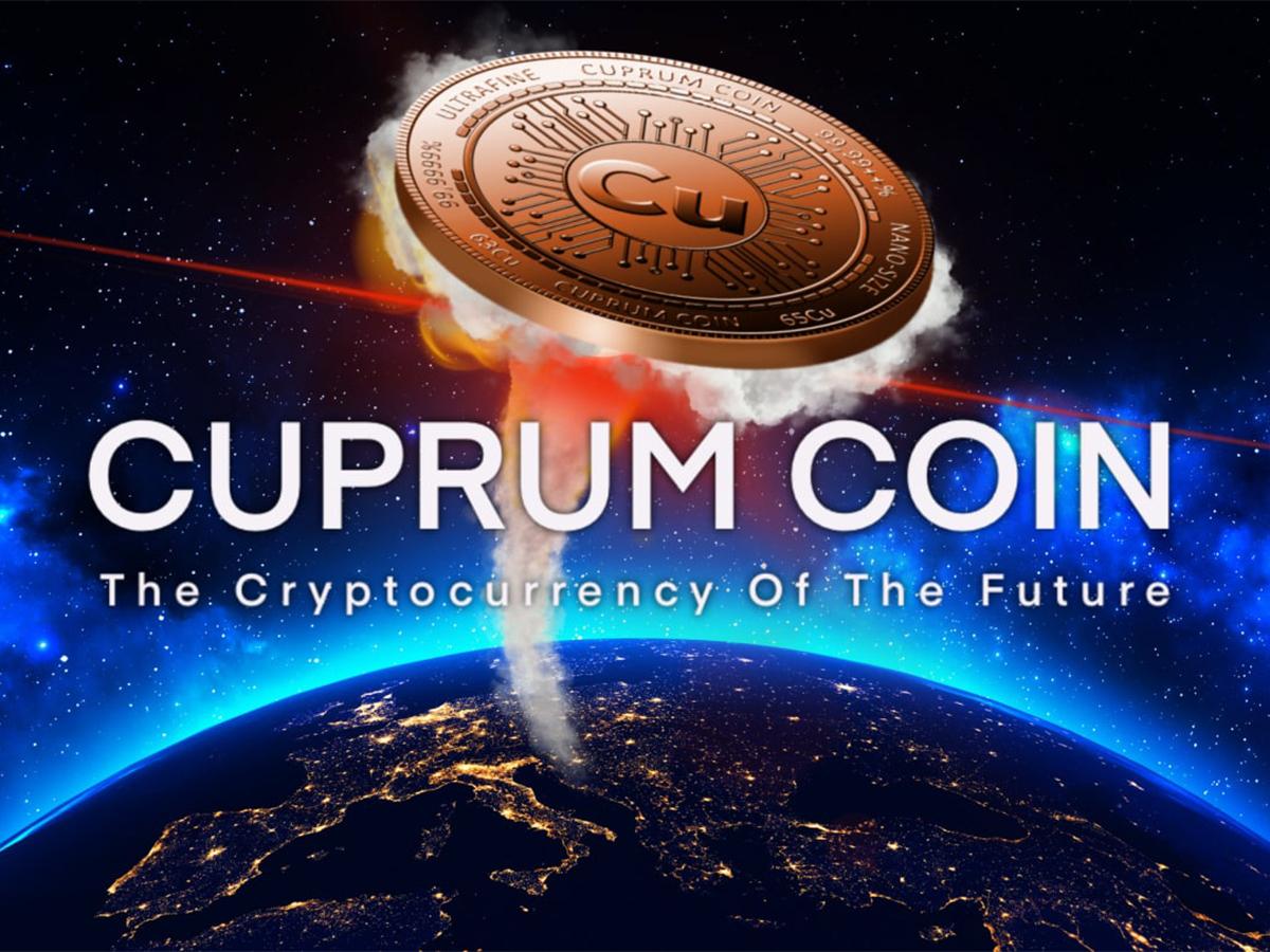Cuprum Coin: «Una de las criptomonedas más valiosas del mundo lanzada con éxito»
