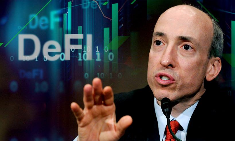 Gensler ประธาน ก.ล.ต. สหรัฐฯ ทำนายว่าอุตสาหกรรม DeFi มูลค่า 1 แสนล้านดอลลาร์จะล่มสลายลง