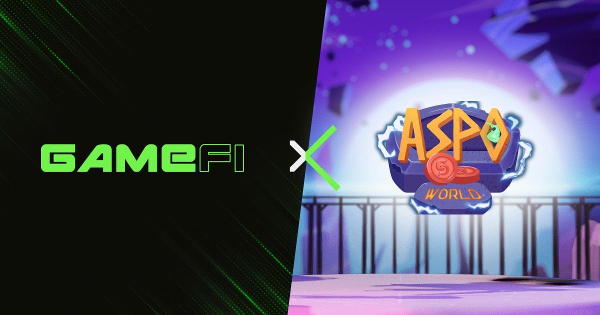 ASPO World (ASPO) là dự án mới nhất tổ chức IGO và INO trên GameFi