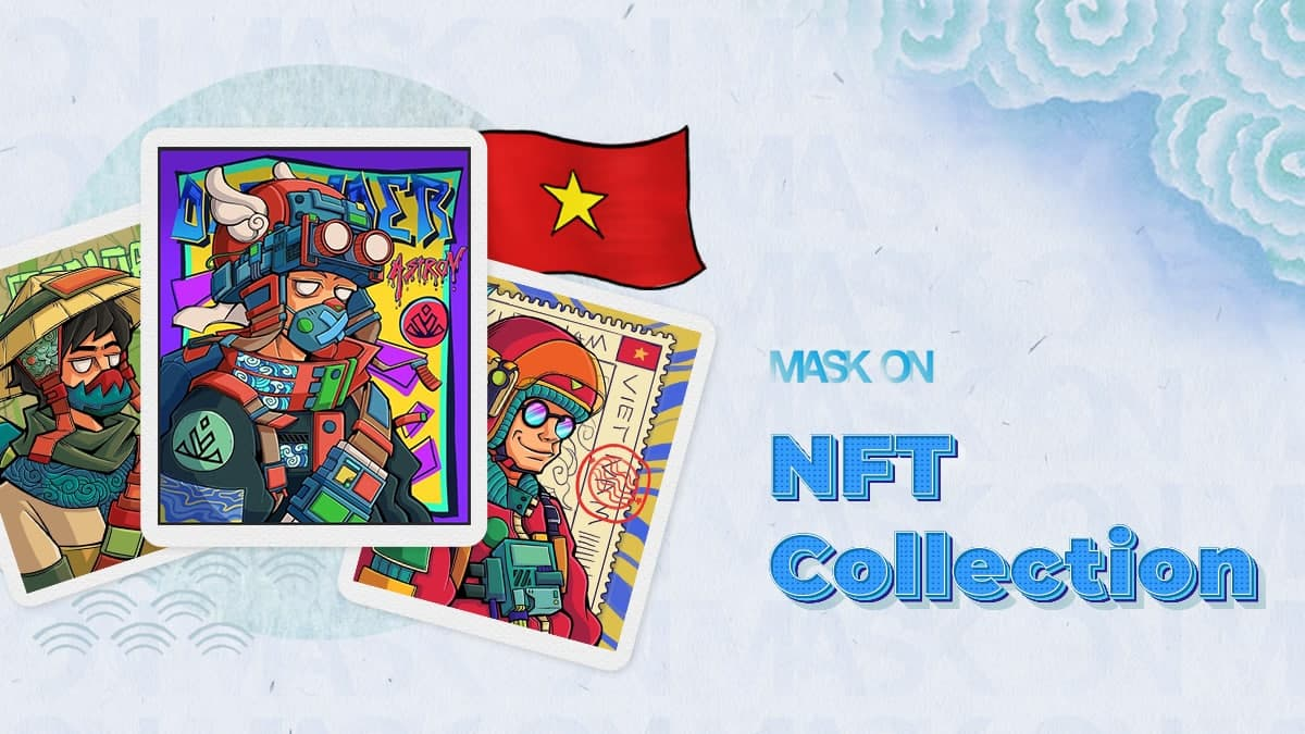 MaskOn mở bán đấu giá từ thiện bộ sưu tập NFT