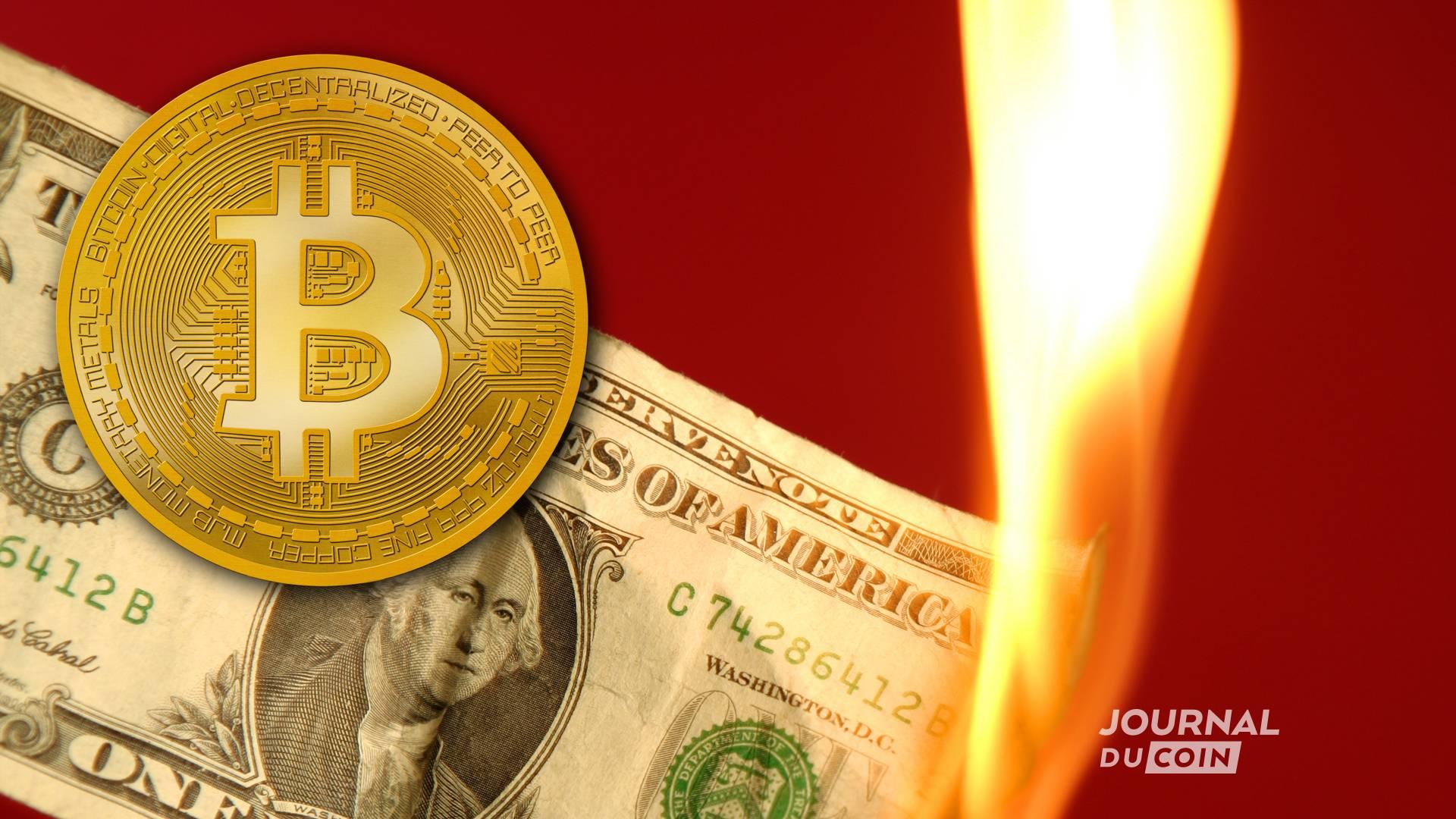 2 banques américaines séduites par Bitcoin : le dollar, has been ?