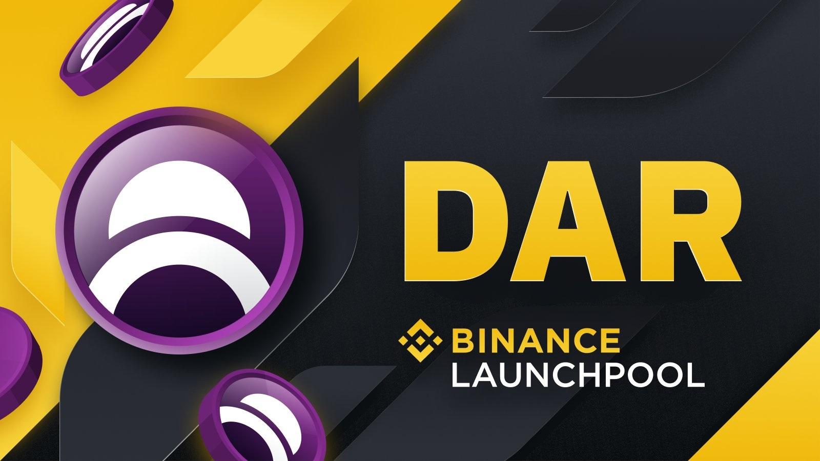 Mines of Dalarnia (DAR) ra mắt trên Binance Launchpool