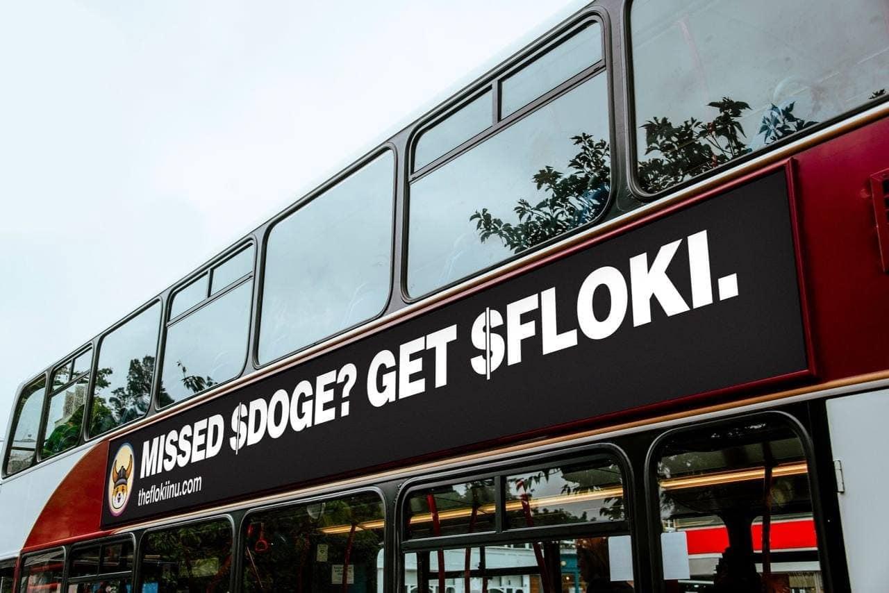 Criptomoeda rival da Dogecoin invade Londres com campanha publicitária