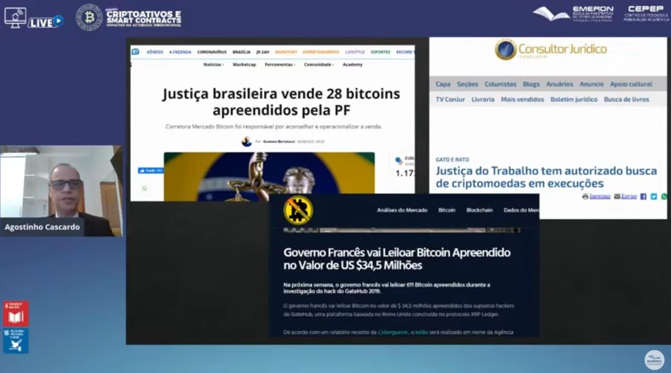 Superintendente da PF diz que Bitcoin é desafio para justiça