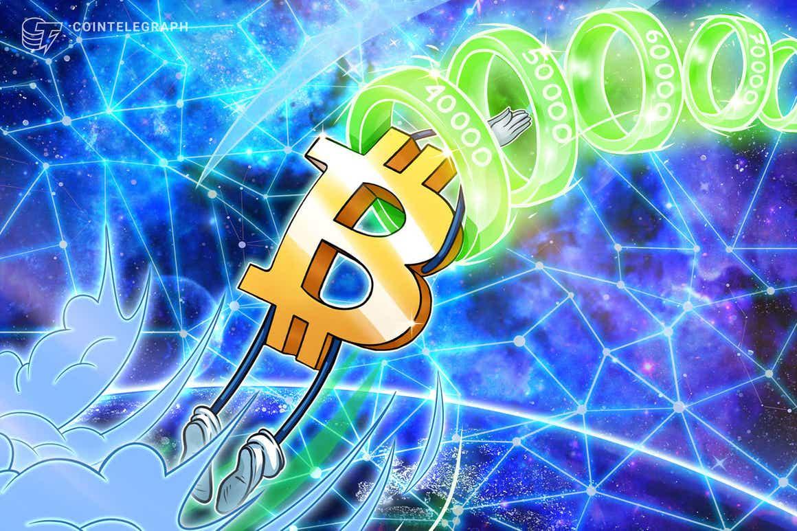 Bitcoin recupera os US$ 61 mil com vela de US$ 1.700 em uma hora, esquentando o mercado de BTC