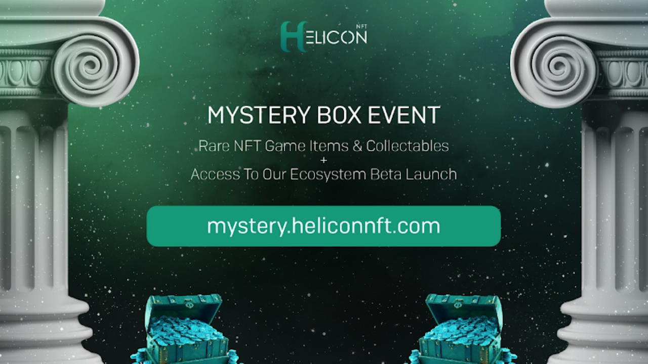 HeliconNFT: All-New Play-to-Earn NFT Ecosystem Launches NFT Mystery Box Event and Battlefy Partnership