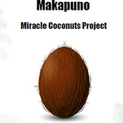 Makapuno miracle coconuts project logo