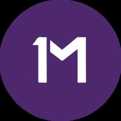 Логотип 1Million Token (1MT) в png