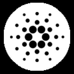 Cardano ada logo white
