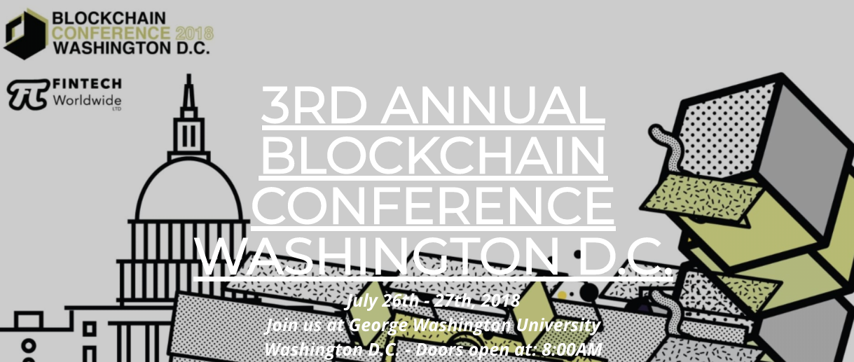 3rd annual blockchain conference washington d.c.