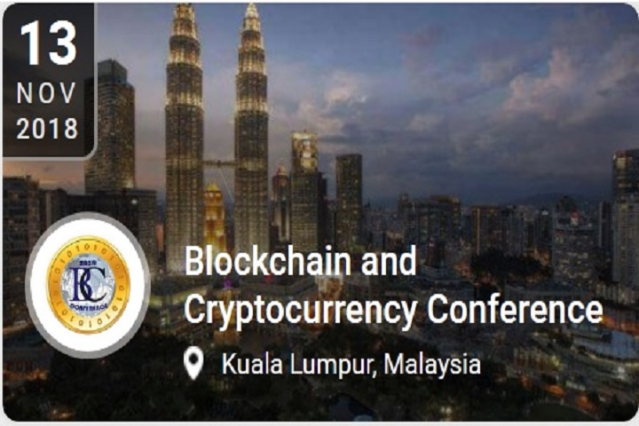 Blockchain and cryptocurrency conference banner