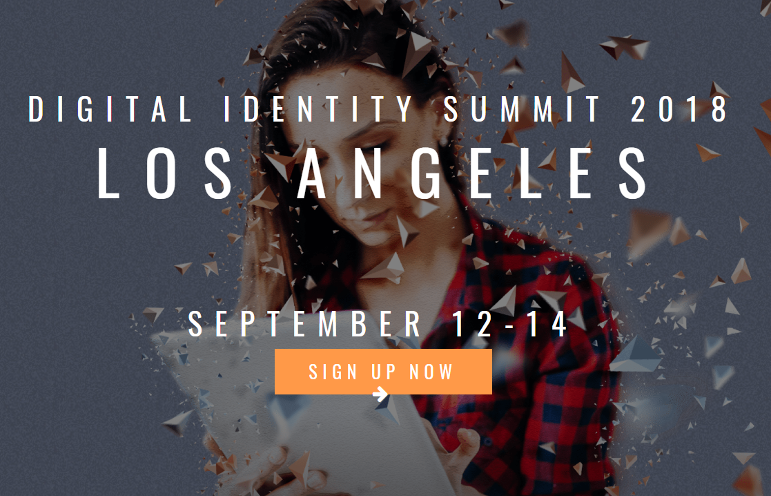 Digital Identity Summit 2018