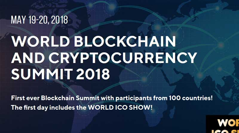 World Blockchain and Cryptocurrency Summit Moscow 2018