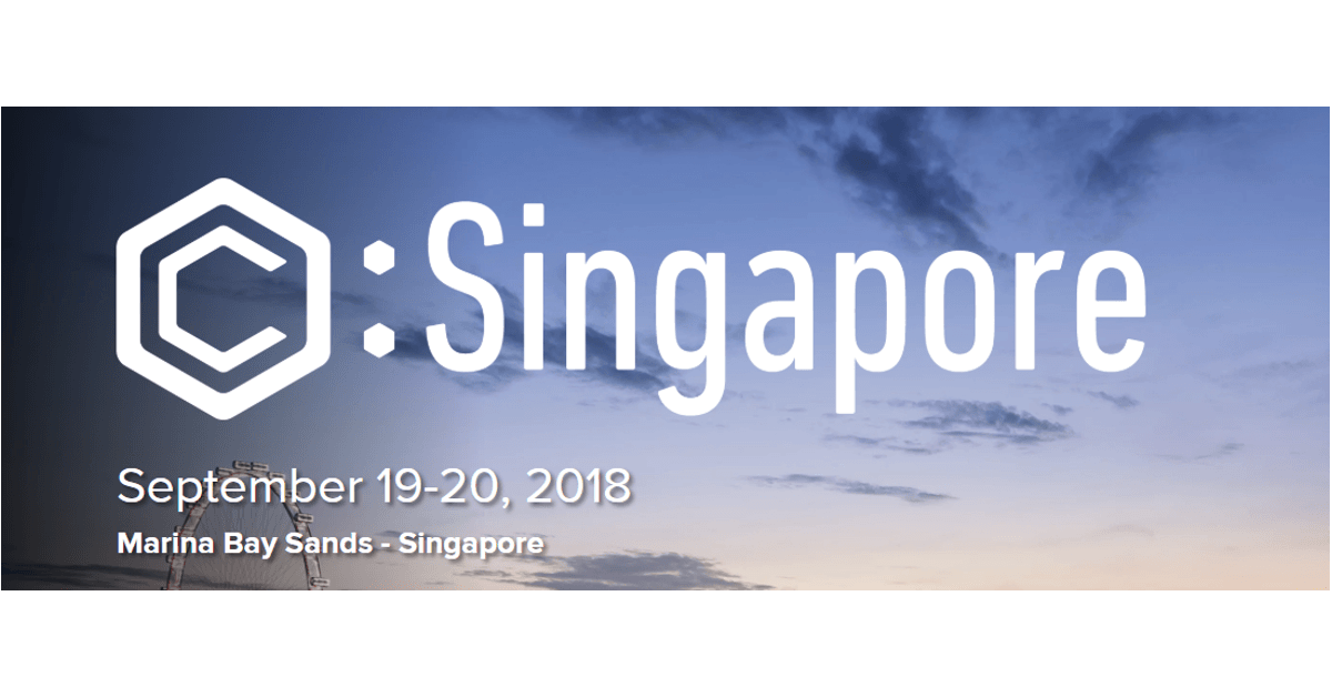 Coindesk concensus singapore 2018