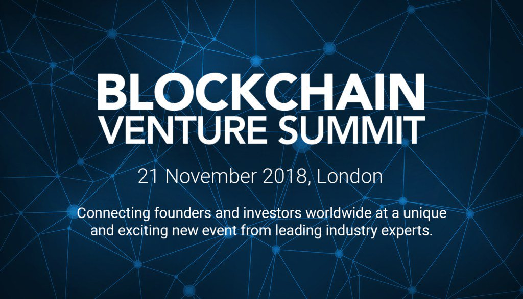 Blockchain venture summit london