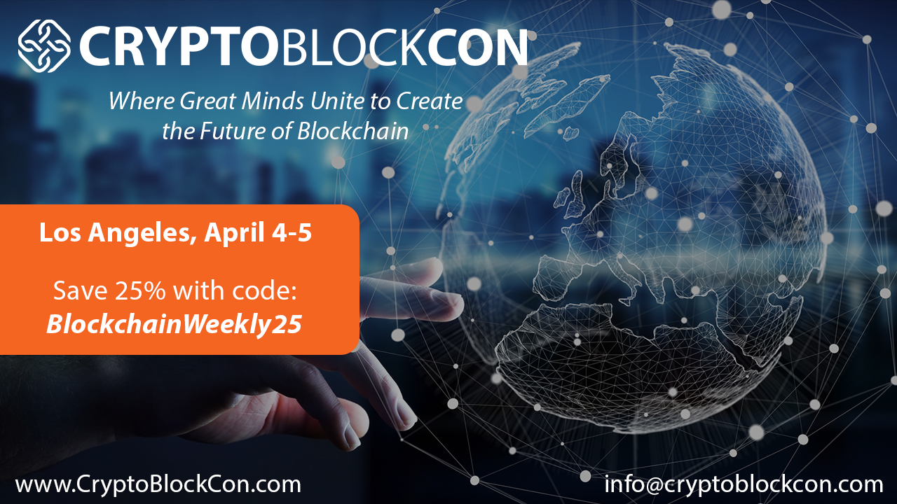 Cryptoblockcon   los angeles